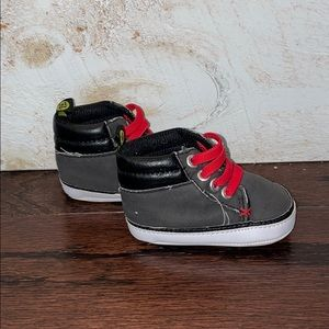 First Steps Baby Infant High Top Sneakers